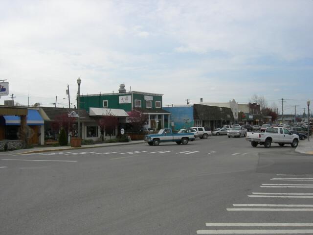 Stanwood WA Main St image