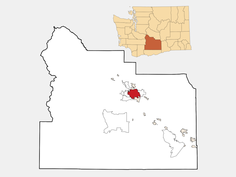 Yakima locator map