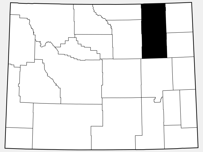 Campbell County locator map