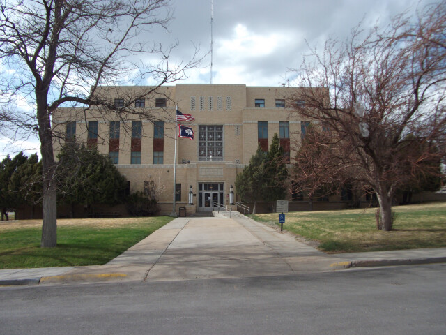 Carbon County Courthouse Wyoming 5-3-2014 image