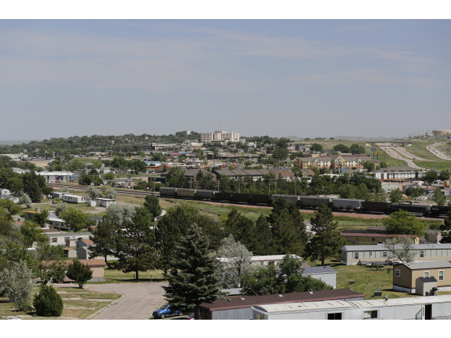 Gillette  Wyoming seen from Overlook Park image
