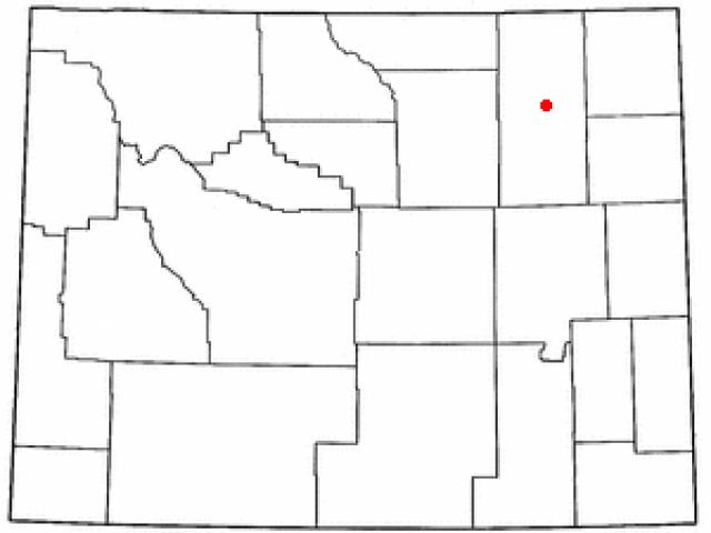Gillette locator map