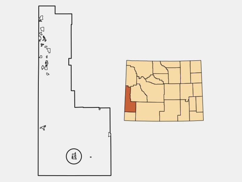 Kemmerer locator map