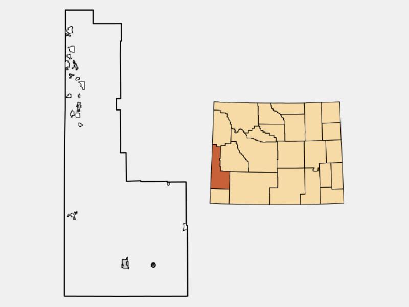 Opal locator map