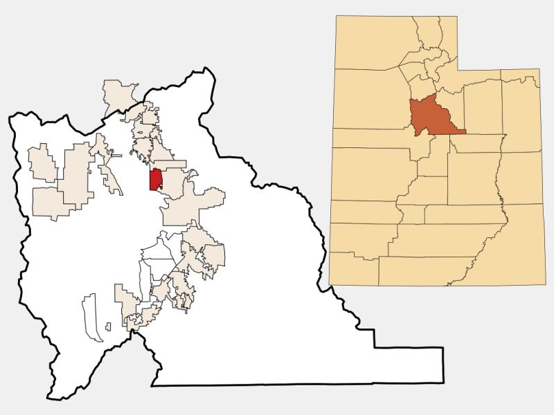 Vineyard location map