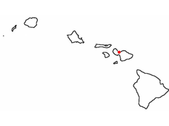 Kahului locator map