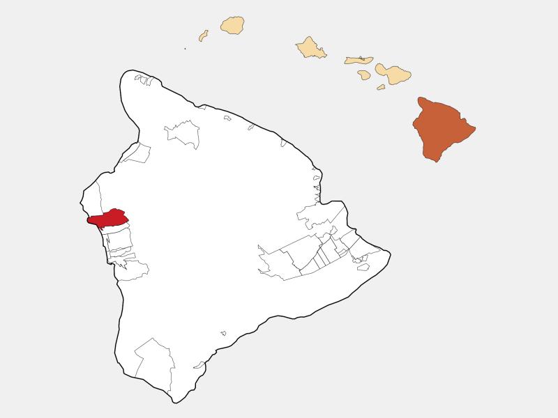 Kailua locator map