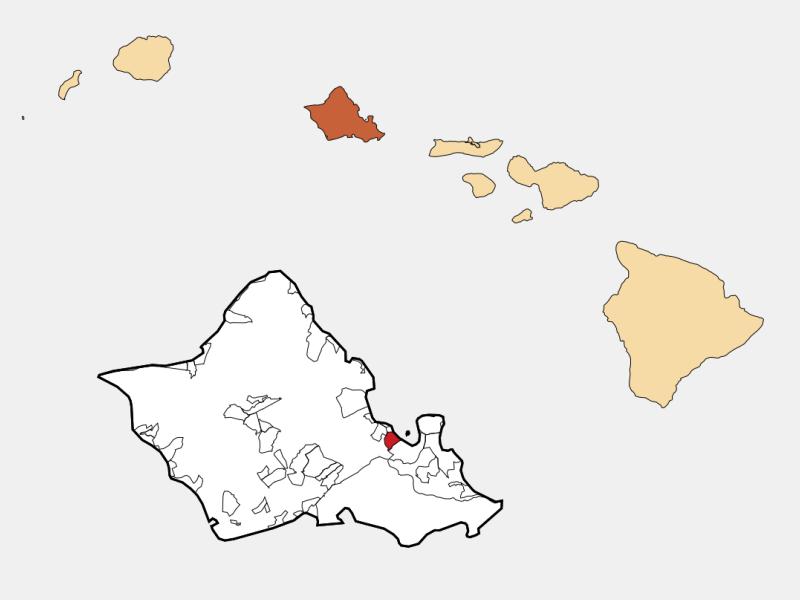 He'eia location map