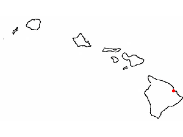 Hilo, HI locator map