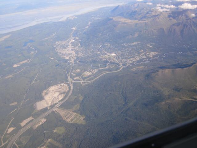 Eagle River  Alaska Aerial image
