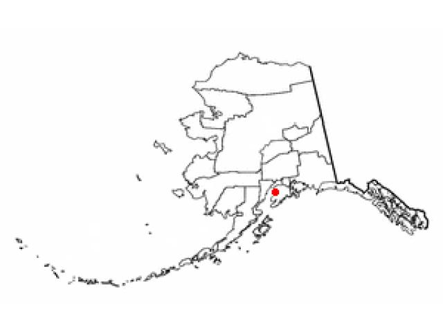 Kalifornsky locator map