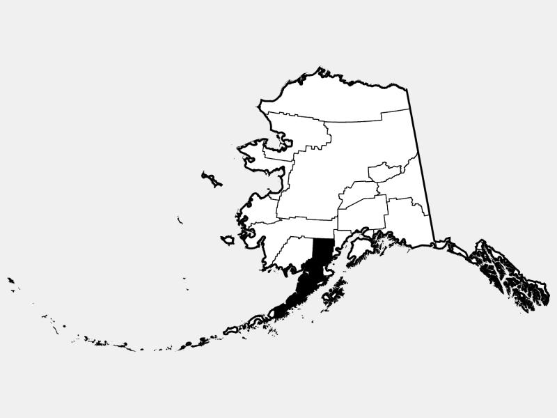 Lake and Peninsula Borough location map