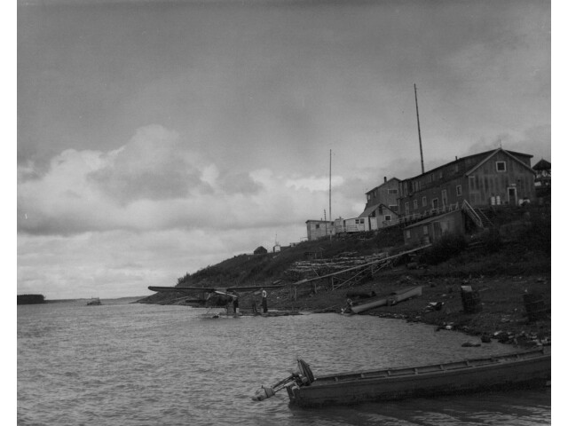 Marshall Yukon River 1953 FWS image