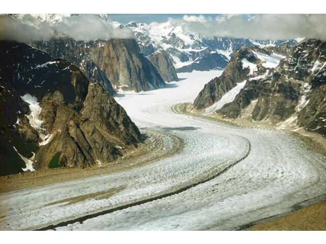 A048  Denali National Park  Alaska  USA  Ruth Glacier and the Great Gorge  2002 image