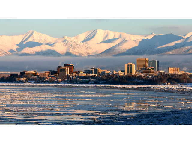 Anchorage from Earthquake Park image