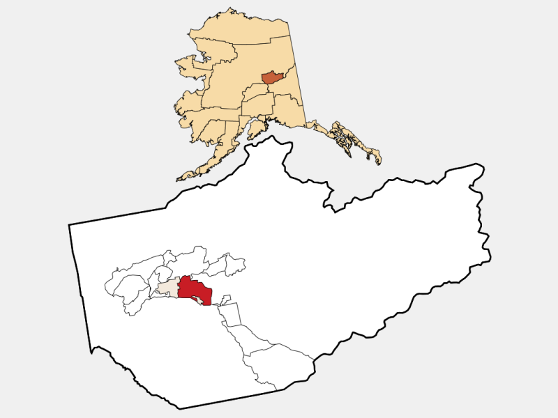 Badger locator map
