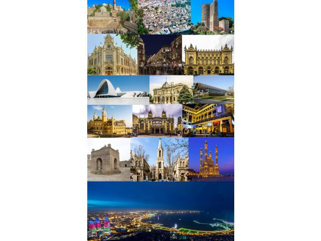 Montage of Baku 2019 image