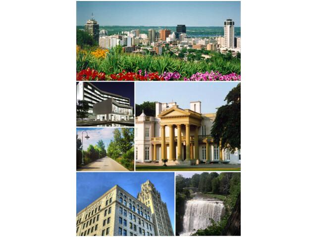 Collage of Tourist Spots in Hamilton  Ontario  Canada image