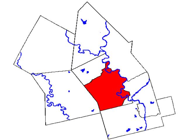 Kitchener locator map