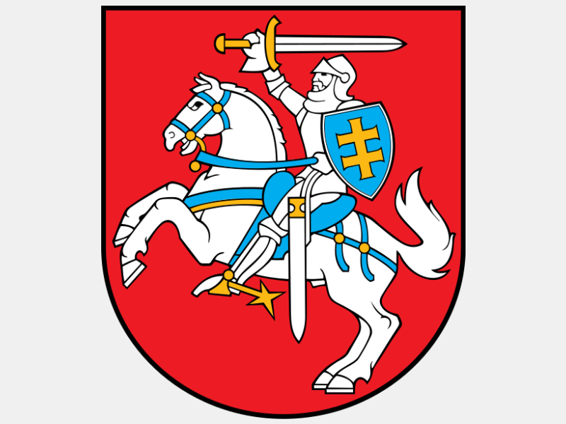 Coat of arms of Lithuania coat of arms image
