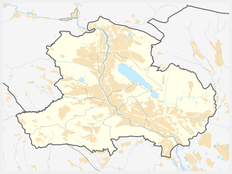 Tbilisi locator map
