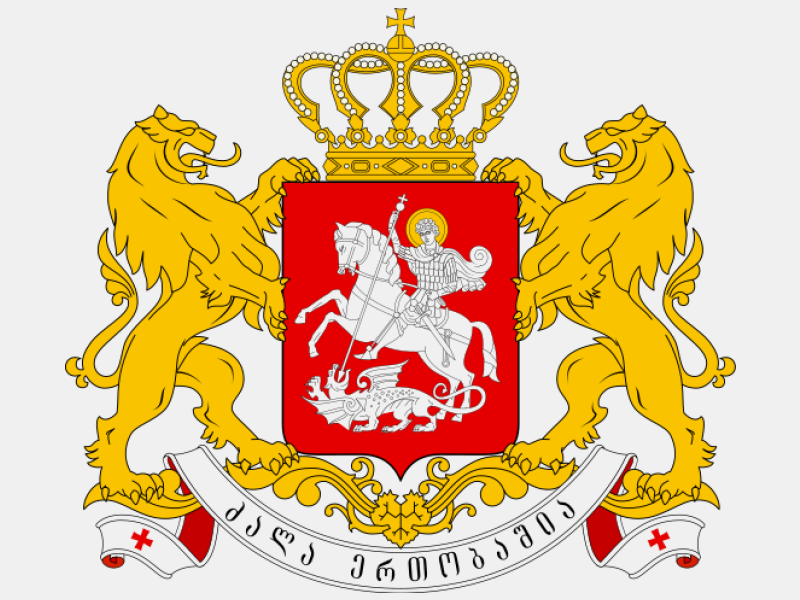 Greater coat of arms of Georgia coat of arms image