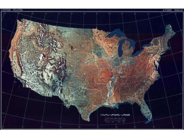 United States locator map