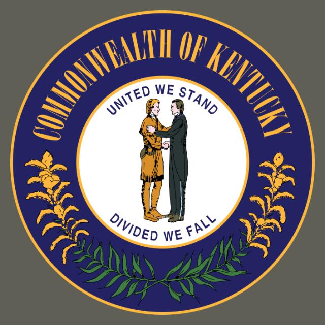 Seal of Kentucky seal image