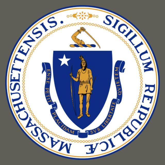 Seal of Massachusetts seal image