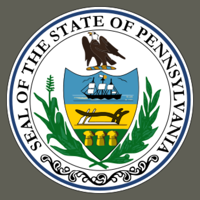 Seal of Pennsylvania seal image