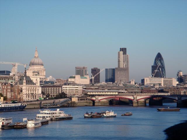 London Skyline image