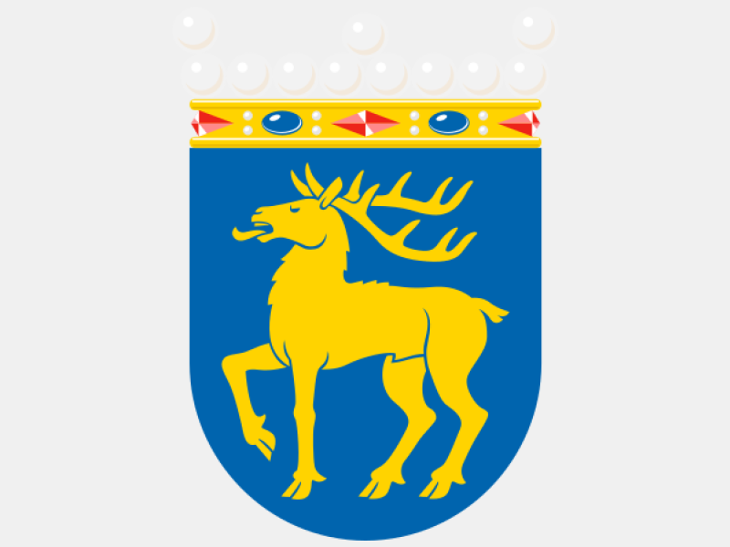 Coat of arms of %C3%85land coat of arms image