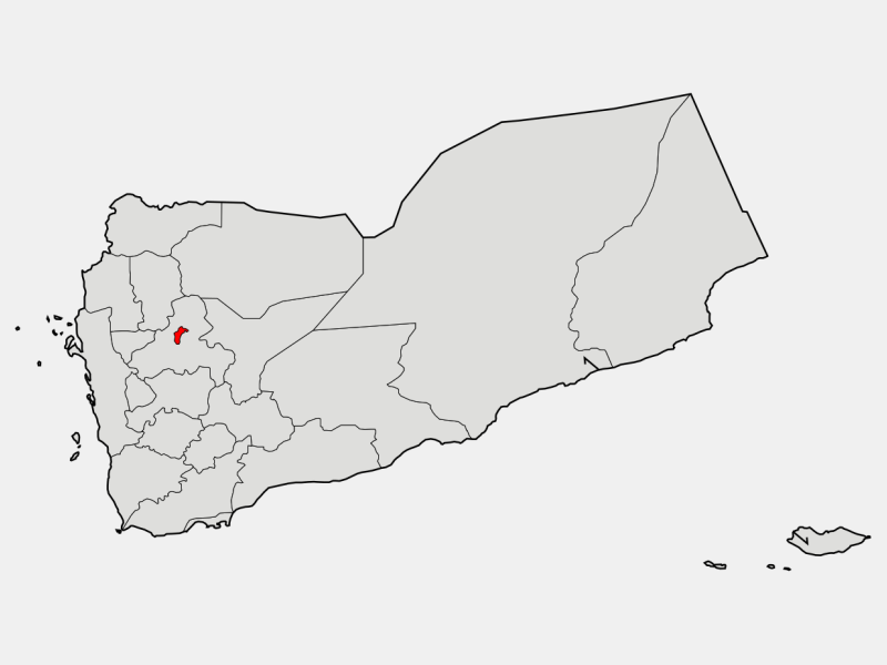 Sanaa locator map