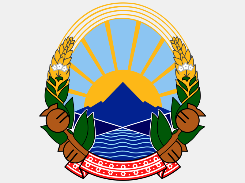 Coat of arms of North Macedonia coat of arms image