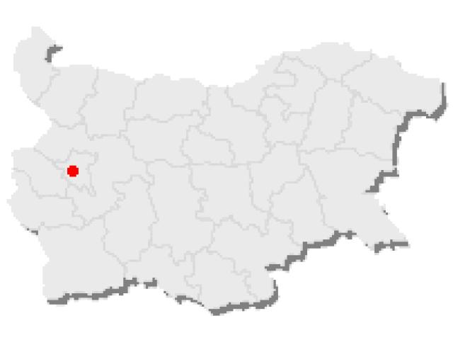Sofia locator map