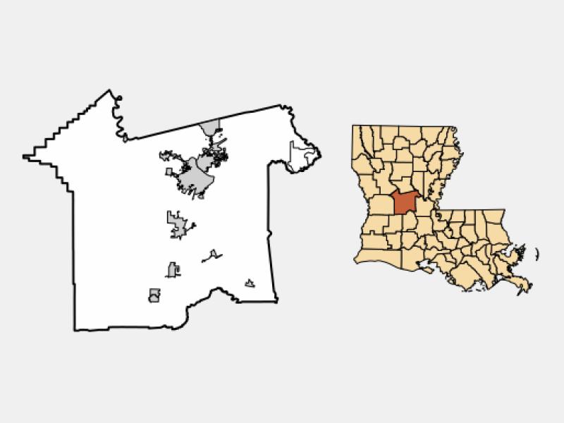 City of Alexandria locator map