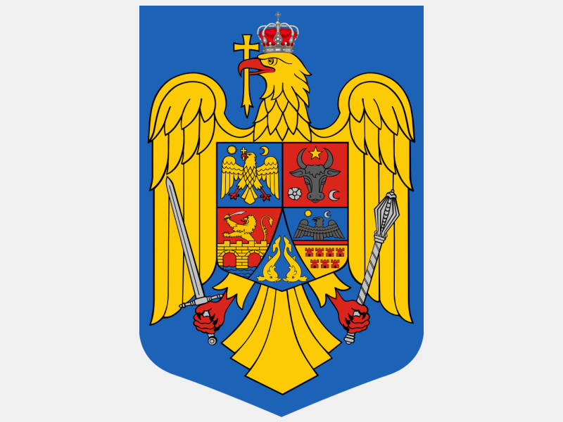 Coat of arms of Romania coat of arms image