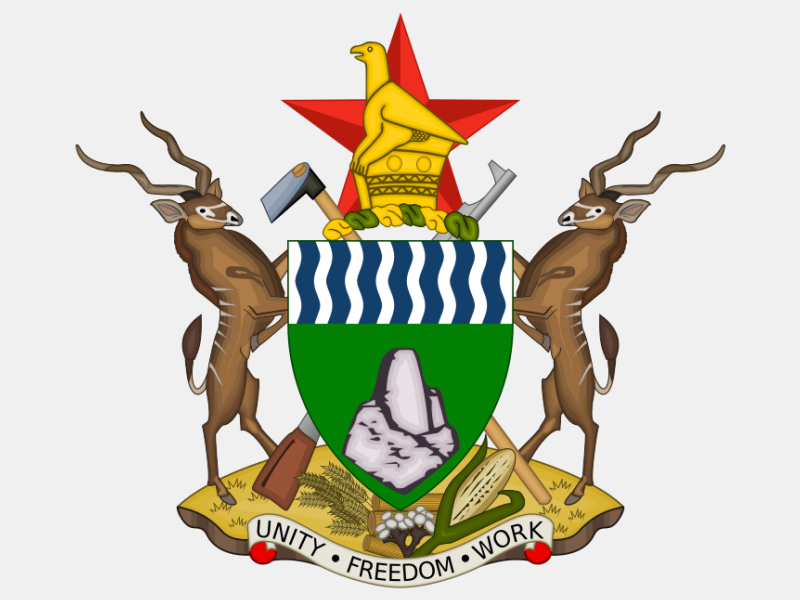 Coat of arms of Zimbabwe coat of arms image