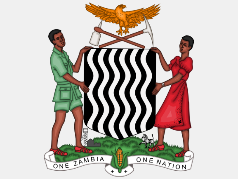Coat of arms of Zambia coat of arms image