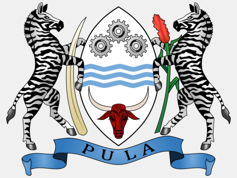 Coat of arms of Botswana coat of arms image