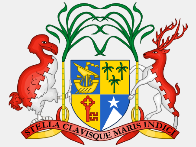 Coat of arms of Mauritius coat of arms image